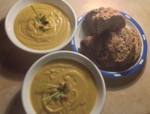 Homemade Pumpkin SoupHomemade Pumpkin Soup
